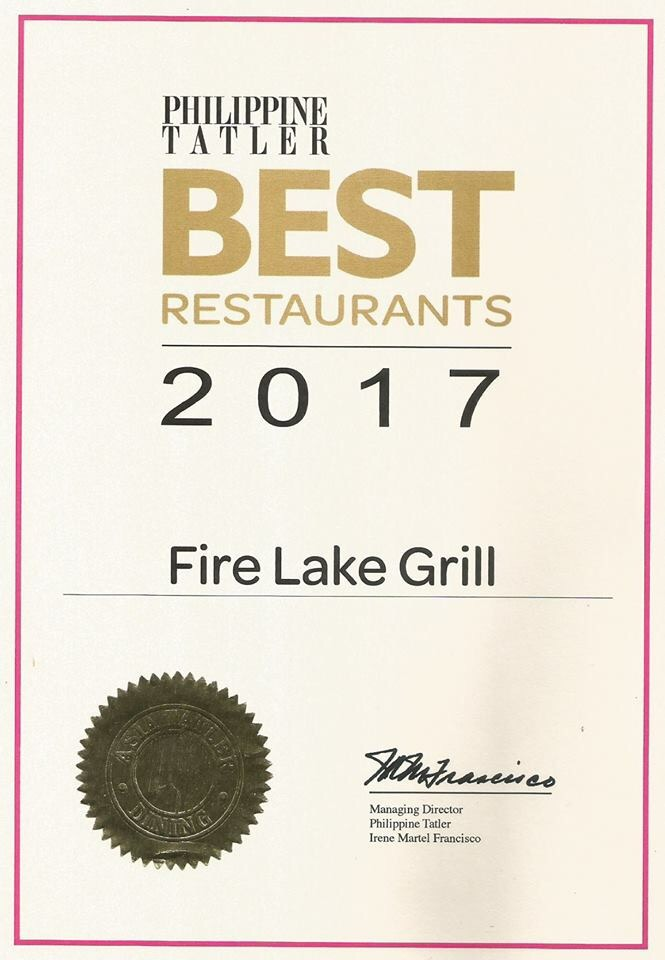 Fire Lake Grill BestRestaurant 2017
