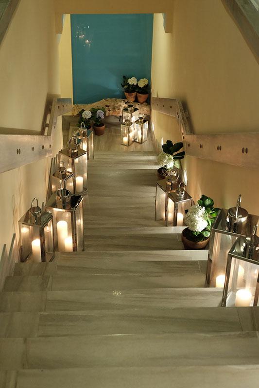 The Inn at Cliffhouse Tagaytay Nice stairs